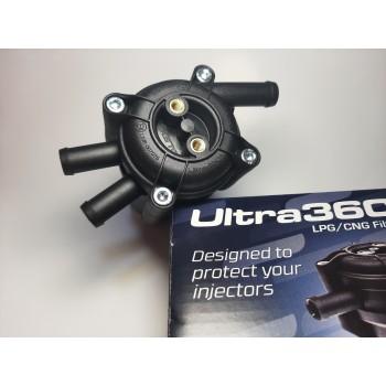 Фильтр паровой фазы с отстойником Alex Ultra 360 12х12х12 (один вход два выхода)