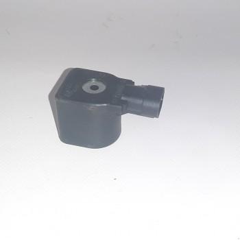 Катушка мультиклапана Tomasetto (с разъемом, черная)