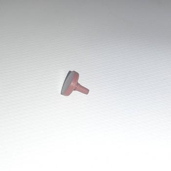 Грибочек резиновый (красный)
