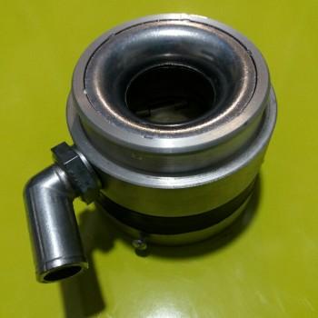 Смеситель Daewoo d 62 мм, с металическим угловым коленом и контргайкой
